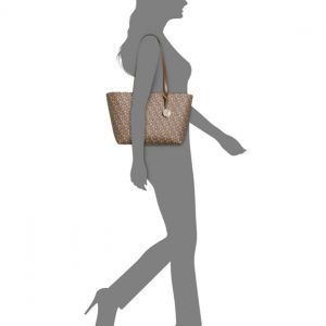 DKNY-Donna Karan | תיק לוגו חום דונה קארן