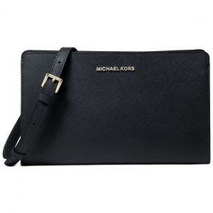 Michael Kors | תיק צד/קלאץ׳ שחור מיקל קורס