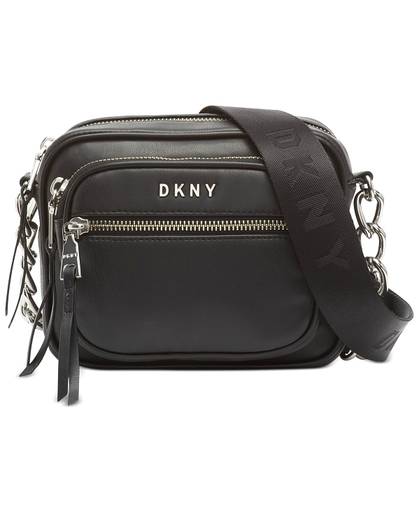 DKNY-Donna Karan   תיק צד שחור דונה קארן