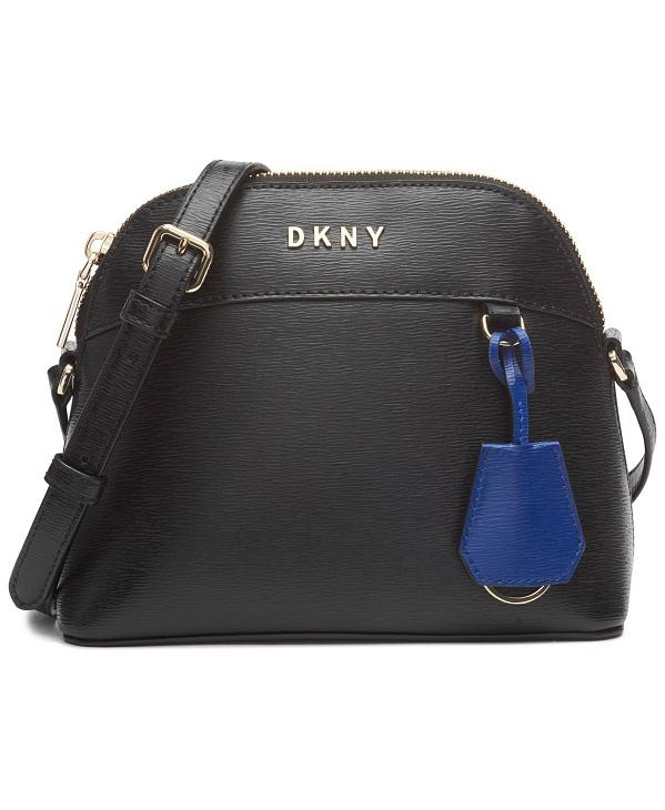 DKNY-Donna Karan   תיק צד שחור בובי דונה קארן
