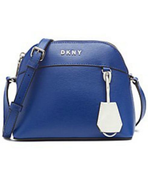 DKNY-Donna Karan | תיק צד כחול בובי דונה קארן