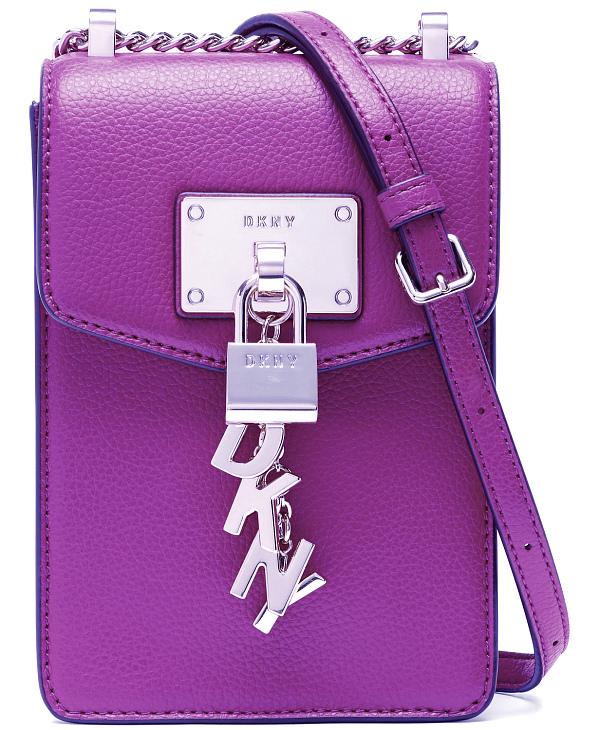 DKNY-Donna Karan   תיק ארנק סלולרי סגול דונה קארן
