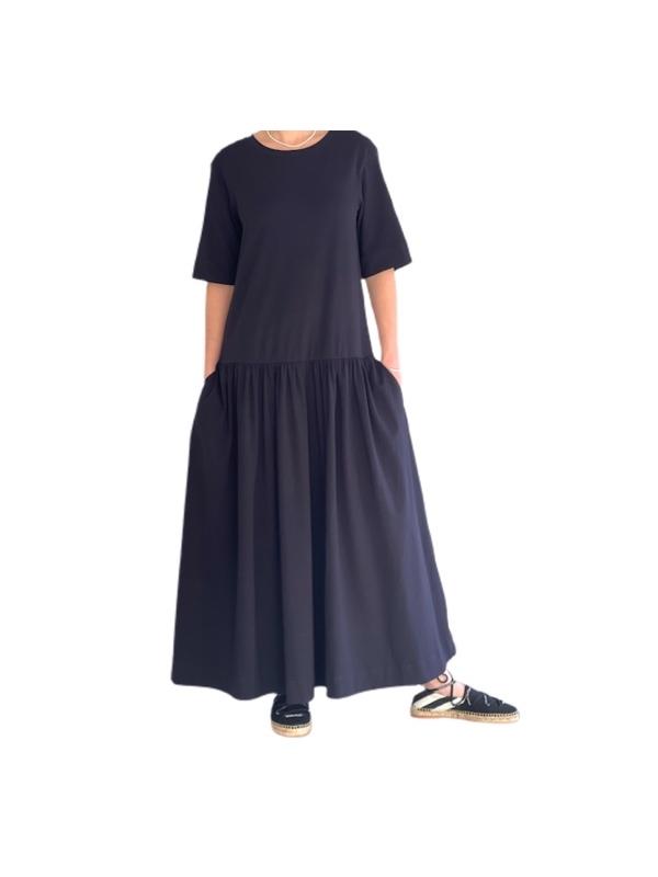 שמלת אוברסייז כחולה מקס מארה