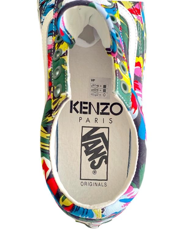 Kenzo   סניקרס צבעוני ואנס/קנזו