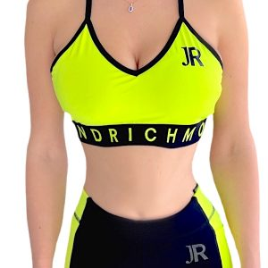 Richmond | חזיית ספורט שחור/ירוק ריצ'מונד