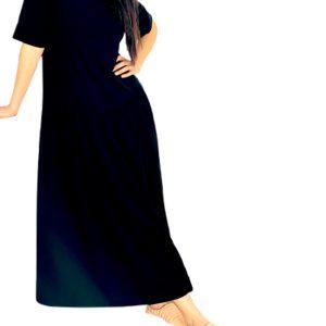 Max Mara | שמלת אוברסייז שחורה מקס מארה
