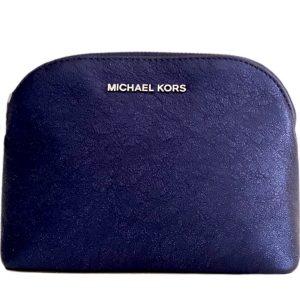 Michael Kors | קלאץ׳/תיק איפור כחול מיקל קורס
