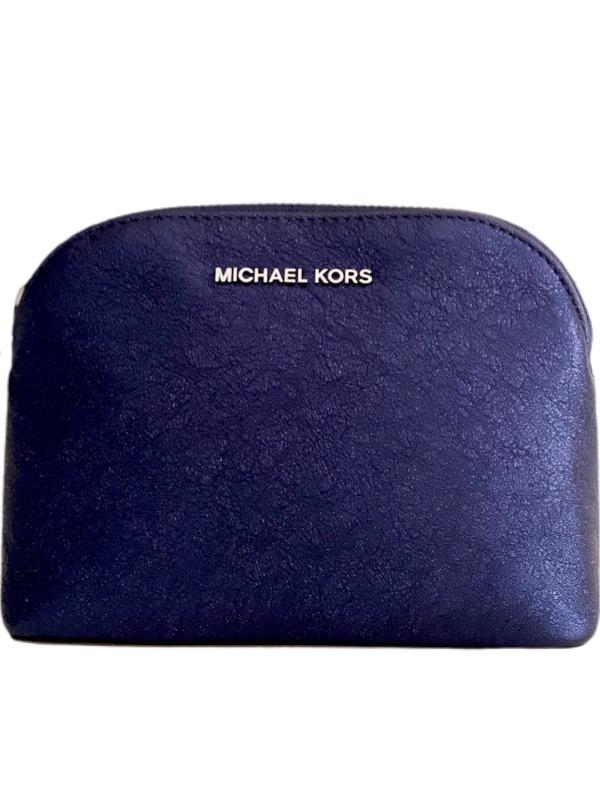Michael Kors   קלאץ׳/תיק איפור כחול מיקל קורס