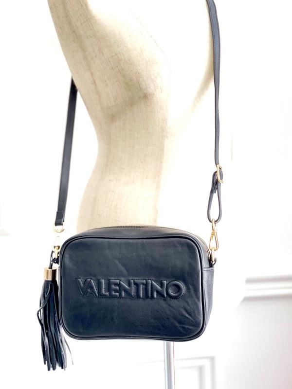 Valentino by Mario Valentino   תיק שחור מריו ולנטינו