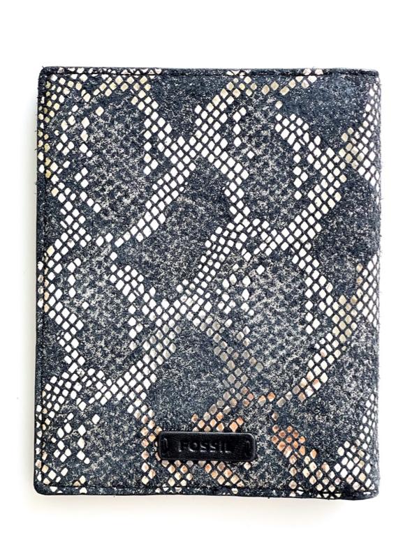 Fossil   נרתיק דרכון עור פוסיל