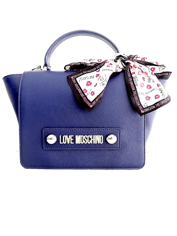 Love Moschino | תיק כחול יוקרתי לאב מוסקינו