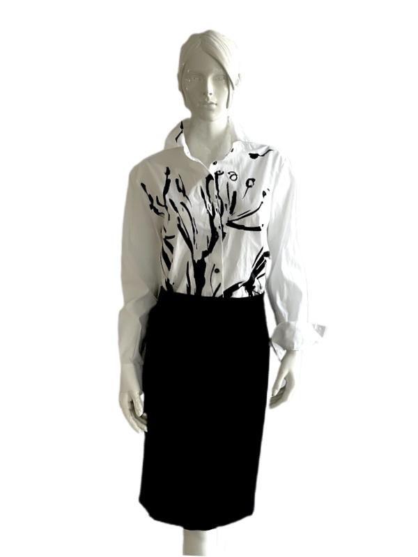 Piazza Sempione | חולצה לבנה יוקרתית פיאצת סמפיונה
