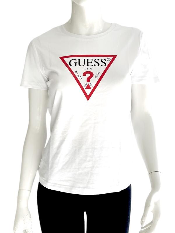 Guess | טי שירט לבן גס