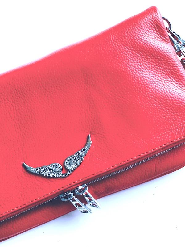 Zadig&Voltaire   תיק אדום זאדיג אנד וולטר