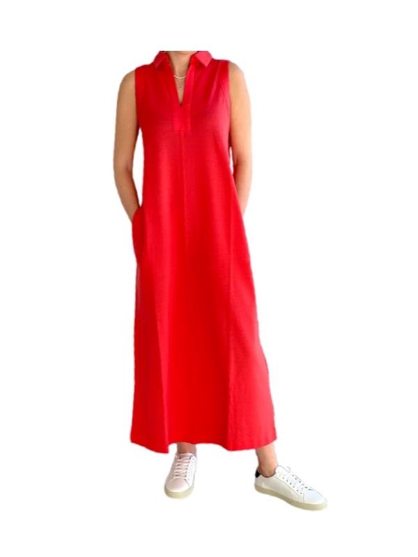Max Mara   שמלת פולו כתומה מקס מארה