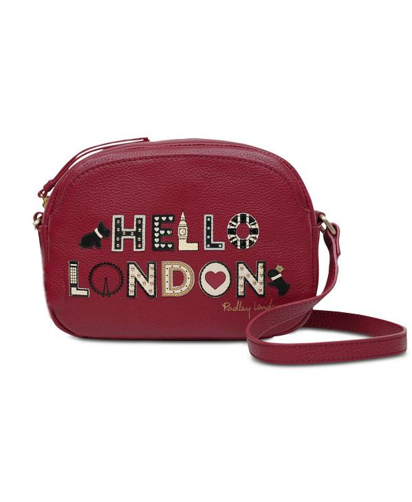 Radley London | תיק צד אדום רדלי לונדון