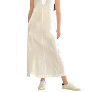 Max Mara | שמלת פולו לבנה מקס מארה