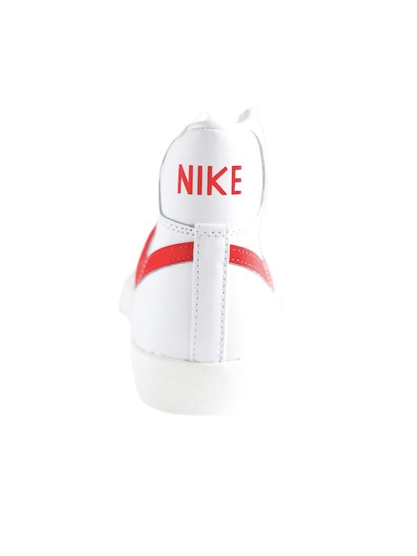 Nike   סניקרס גבוהות בלייזר לבן/אדום נייק