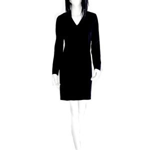 Cacharel | שמלה שחורה יוקרתית קאשרל