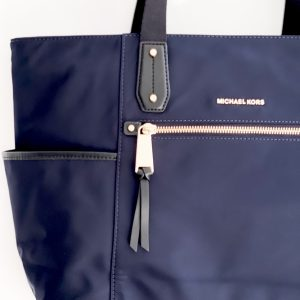 Michael Kors | תיק ניילון כחול מיקל קורס