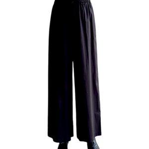 Max Mara   מכנס מתרחב שחור מקס מארה