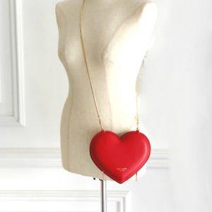 Kate Spade | תיק לב אדום קייט ספייד