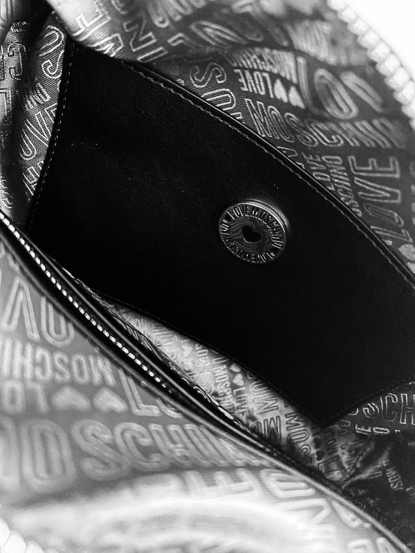 Love Moschino | תיק שחור יוקרתי לאב מוסקינו