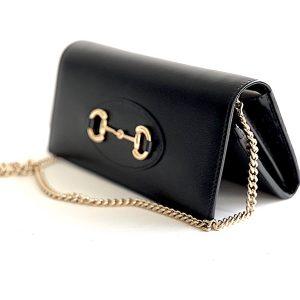 Gucci | תיק צד/ארנק שחור גוצ'י