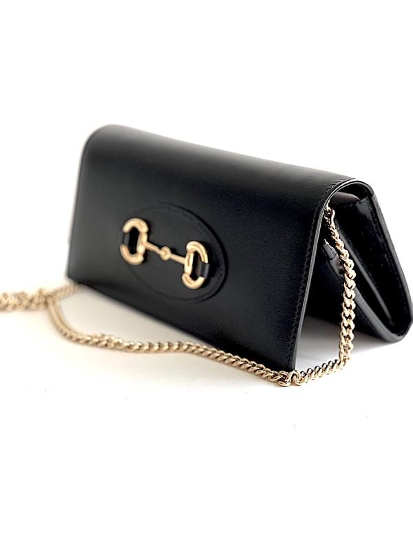 Gucci   תיק צד/ארנק שחור גוצ'י