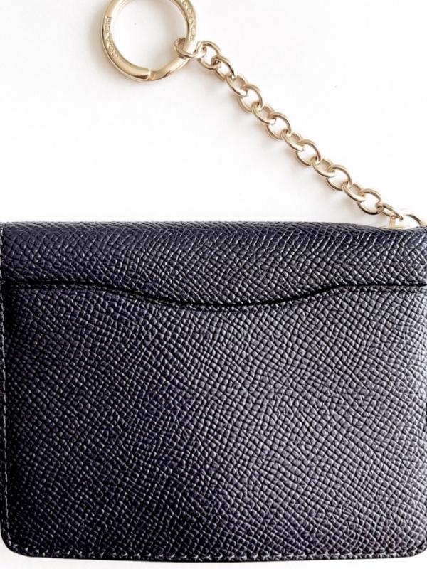 Coach | ארנק קטן/מחזיק מפתחות שחור קואץ