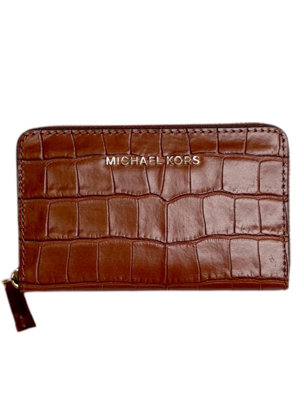 Michael Kors | ארנק חום קרוקו מייקל קורס