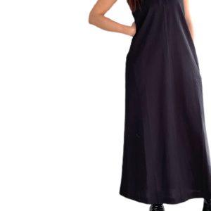 Max Mara | שמלת פולו שחורה מקס מארה