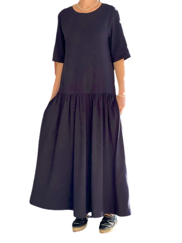 Max Mara | שמלת אוברסייז כחולה מקס מארה