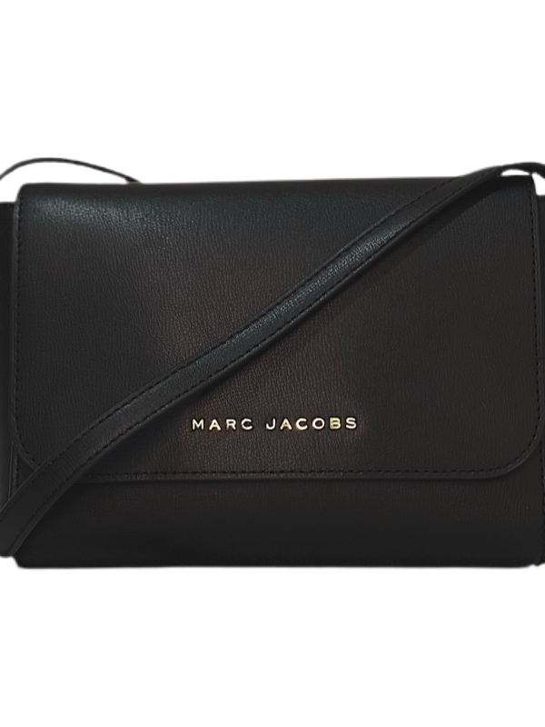 Marc Jacobs   תיק צד שחור מארק ג'ייקובס
