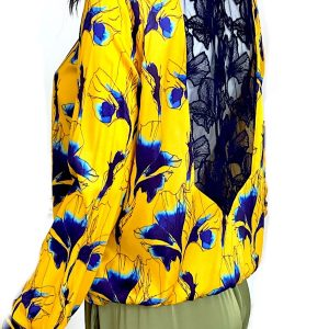 Cacharel | חולצת משי יוקרתית קאשרל