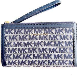 Michael Kors | ארנק לוגו כחול מייקל קורס