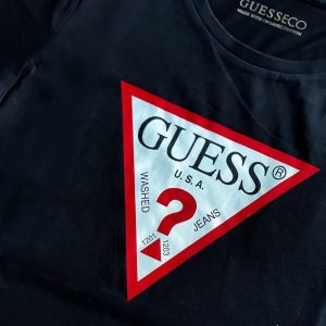 Guess | טי שירט שחור גס