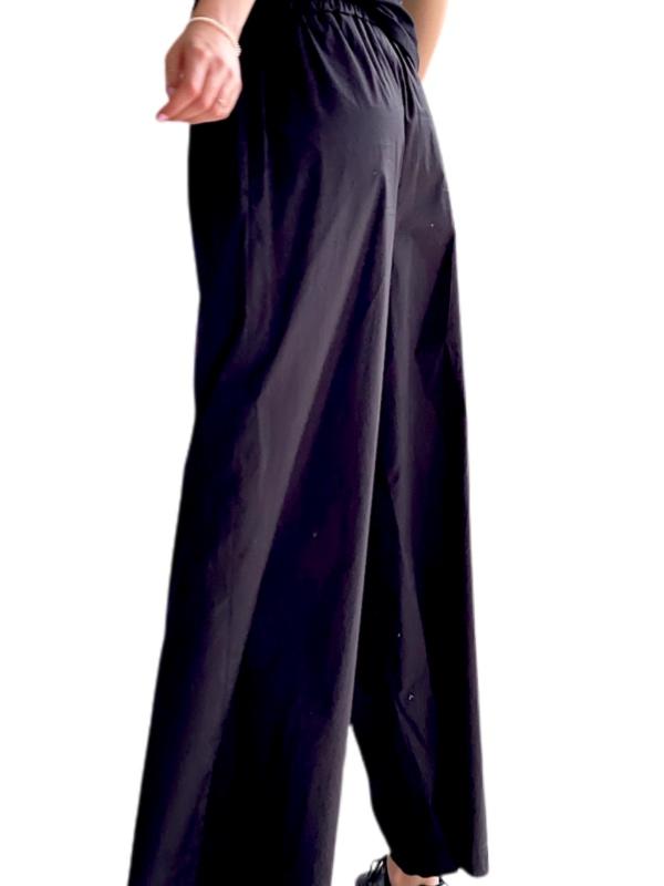 Max Mara | מכנס מתרחב שחור מקס מארה