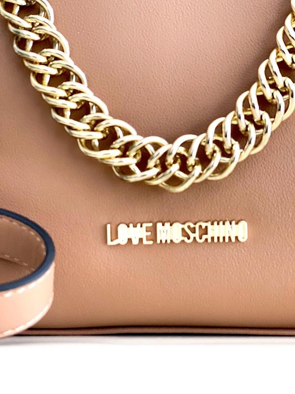 Love Moschino | תיק חום יוקרתי לאב מוסקינו