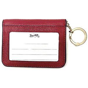 Coach | ארנק כרטיסי אשראי אדום קואץ