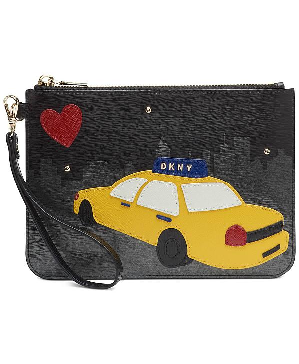 DKNY-Donna Karan | ארנק/קלאץ׳ שחור טקסי דונה קארן