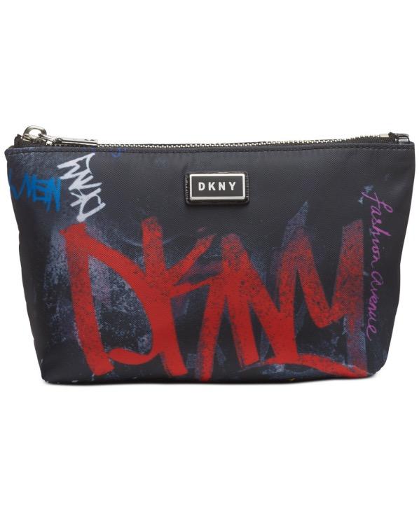 DKNY-Donna Karan   תיק איפור גרפיטי דונה קארן