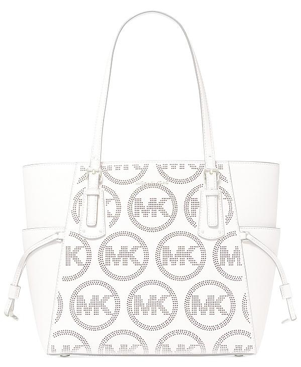 Michael Kors | תיק לבן לוגו מיקל קורס