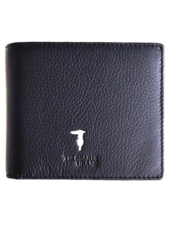 Trussardi | ארנק שחור יוקרתי טרוסארדי