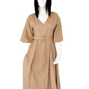 Biancoghiaccio | שמלה שרוול פעמון ביאנקוג'אצ'יו