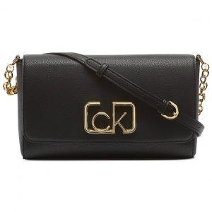 Calvin Klein | תיק צד שחור לוגו קלוין קליין