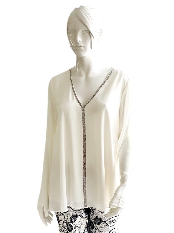 Karen Kane   חולצה אופוויט קרן קיין