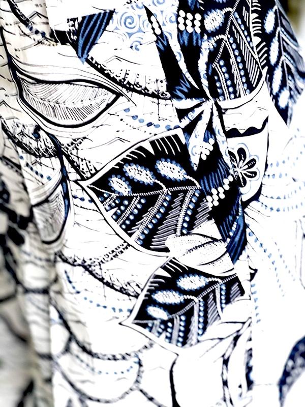 Biancoghiaccio   מכנס כחול/לבן ביאנקוג'אצ'יו