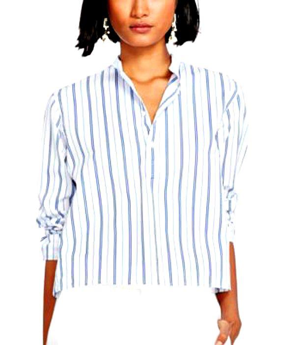 Ralph Lauren   חולצת פסים רחבה ראלף לורן
