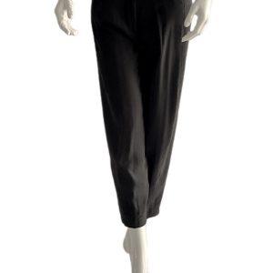 Biancoghiaccio | מכנס צבע שחור ביאנקוג'אצ'יו
